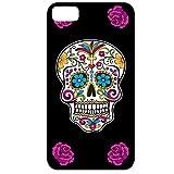 Yonacrea - Coque 3D téléphone Iphone 4/4S - Tête de mort mexicaine