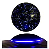 Floating Magnetic Levitation Globe Drehen 6 ' Electronic Floating Globe World Map mit LED Lights Home Office Learning Education Display Stand Desk Dekoration