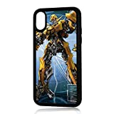 (For iPhone XS MAX) Durable Protective Soft Back Case Phone Cover - HOT11168 Bumblebee