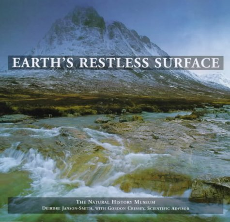 Earth's Restless Surface by Natural History Museum (1996-01-01)
