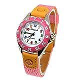 Montre de quartz pour enfants-dxlta Montre de Temps de l'étudiant montre de...