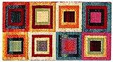 ABC Gioia A Tappeto Arredo, Nylon, Multicolore, 110x60x2 cm
