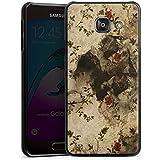 Samsung Galaxy A3 (2016) Housse Étui Protection Coque Vintage Rétro Collection Motif Motif