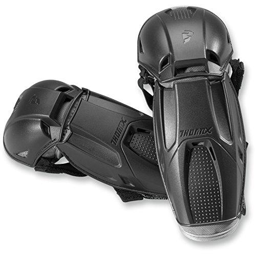 Preisvergleich Produktbild Thor Quadrant Kinder Motocross Ellenbogenprotektor Cross Ellenbogenschoner Enduro Offroad MTB BMX Protektor Schwarz