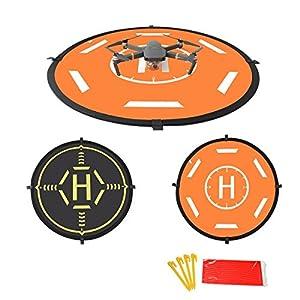 Drone Landing Pad Universal Foldable Drone Luminous Function 2 Sides Used for DJI Mavic PRO/SPARK/Phantom 3 Phantom 4 Inspire 1 Quadcopter