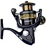 Webla 5.0: 1 Angelrolle Aluminiumlegierung Tragbare 12-Achsen-Fadenspinnräder Große Spulen Für Fisch Rod Kugellager Für Angeln Outdoor Sports