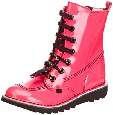 Kickers Girls Kicksohi MF PTL YF Boots 1-12448 Pink 3 UK, 36 EU