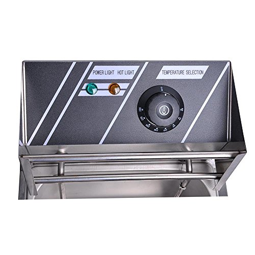 51fe226WHnL. SS500  - ReaseJoy 3000W 10L Electric Deep Fryer Countertop Stainless Steel Single Tank with Drain Timer Basket Commercial Home