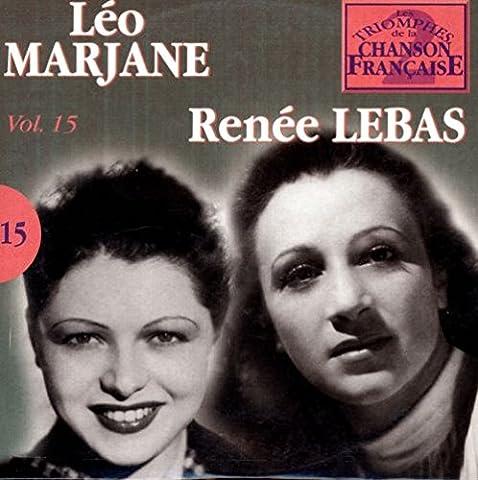 Renee Lebas - Les triomphes de la chanson française vol