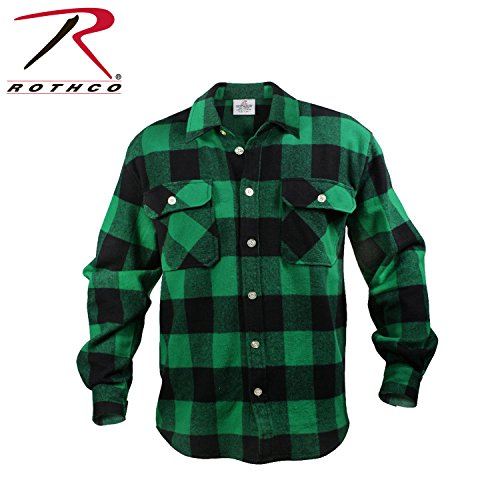 green-extra-heavyweight-brawny-buffalo-plaid-flannel-shirt-size-4x-large