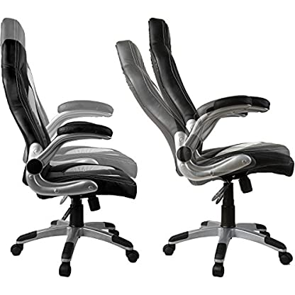 """RACEMASTER® """"GS Series"""" – Silla de escritorio/Gaming silla de despacho – Mecanismo de inclinación y elevación – Ideal para videojuegos – Homolación SGS – Disponible en 20 colores silla de oficina"""