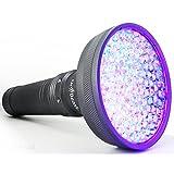 uvBeast NEUE VERSION 2 - UV-Taschenlampe Schwarzlicht Taschenlampe mit HIGH DEFINITION 100 LED Flut 385-395nm UV Beste für kommerzielle/Inländische Verwendung Auch in Umgebungslicht - eingetragene Design Entworfen in England (Version 2)