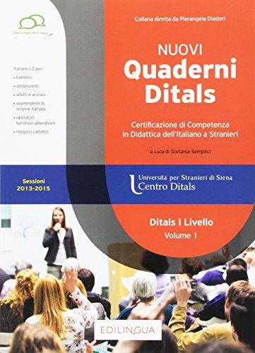 Nuovi quaderni Ditals. I livello: 1