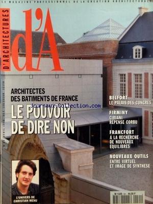 ARCHITECTURES (D') [No 64] du 01/04/...