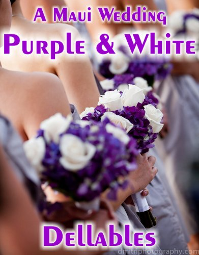A Maui Wedding - Purple & White (English Edition)