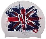 Arena 1E368 Bonnet de Bain Mixte Enfant, Flag UK, FR Fabricant : Taille Unique