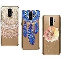 CreWin 3 Pack Hülle kompatibel mit Samsung Galaxy S9 Plus Handyhülle Silikon Gel TPU Transparent Bumper Durchsichtig... preisvergleich bei billige-tabletten.eu