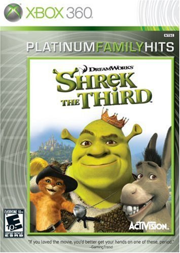 Shrek The Third - Xbox 360 (Collector's) by Activision (Xbox-360-spiel Shrek)