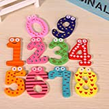 Gifts Online Wooden Fridge Magnet Number...