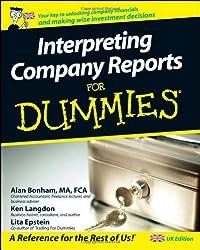 Interpreting Company Reports for Dummies - UK Edition