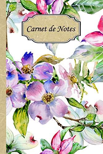 Carnet de Notes: Mon journal personnel de 121 pages lignées avec une couverture fantaisie par Sonia Tofussin