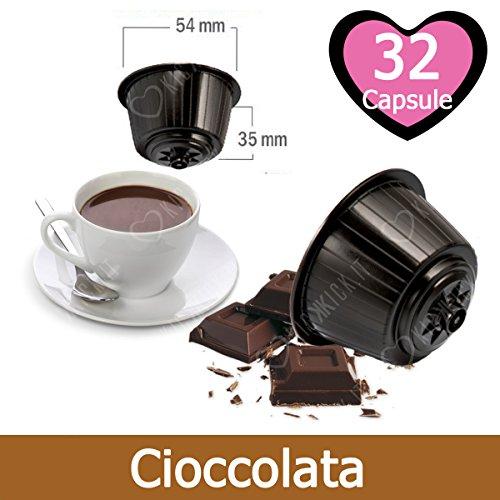 32 Capsulas Chocolate Compatibles Nescafè Dolce Gusto - Café Kickkick