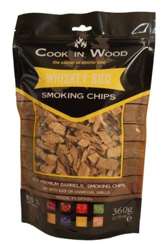 Cook in Wood - Frammenti di legno affumicato all'aroma di whiskey