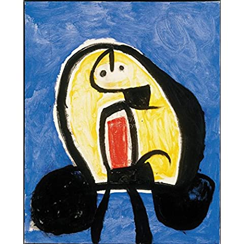 Joan Miro sin/ tit.26 size 28x38cmt.prees 31x23cmt Ed.300 Moder Lithografic watermark Arches