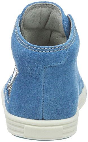 Richter Kinderschuhe Sing, Chaussures Marche Bébé Fille Blau