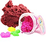 #3: Akhand Active Sand for Kids to Play with 3 Shape Moulds Toy, Multi Color