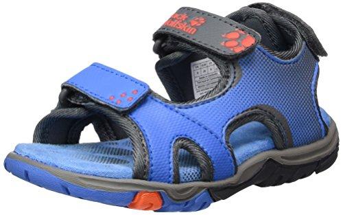Jack Wolfskin Jungen Puno Bay Sandal B Outdoor, Blau (Wave Blue), 31 EU