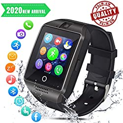Smart Watch Sport SmartWatch Bluetooth Smart Watch per Android iOS Cellulare Watch con slot per schede SIM TF Fitness Tracker Smart Watch con fotocamera, monitor del sonno, frequenza cardiaca