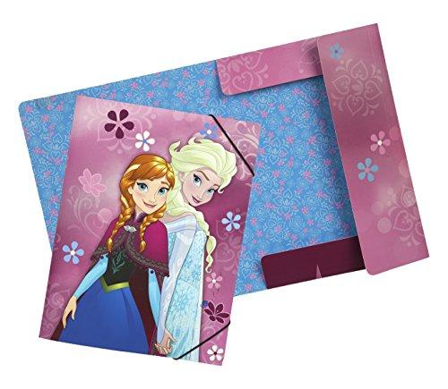 Undercover FRWD0300 - Disney Frozen - Die Eiskönigin Gummizugmappe, A4 -