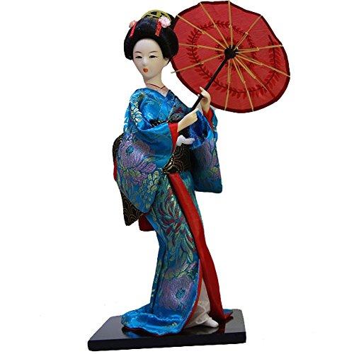 Traditionelle japanische schöne Kimono-Geisha / Maiko Puppe /Geschenke / Deko-A1