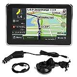 Navigazione GPS, 5 Pollici Universale Touch Screen Navigatore per Auto Navigazione GPS 256 MB 8 GB MP3 FM Europa Mappa 508 per auto bicicletta autobus taxi