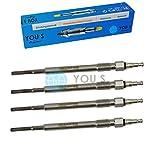 YOU.S Orignal N10579802 Glühkerzen Länge: 117,0 mm Spannung: 4.4 V (4 Stück)