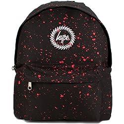 Hype Mochila para escuela–muchos estilos, negro con rojo (negro) - Hype bag (Speckled) Blk/Red