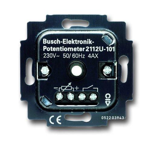 Busch-Jaeger 2112U-101 Busch-Elektronik-Potenziometer-Einsatz  2112 U-101 Elektronik 101