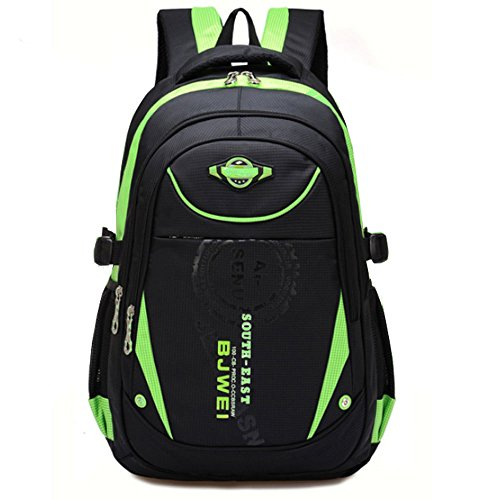 Schulrucksack für Jungen, wasserdichte Bookbags für Kinder Student Kinder...