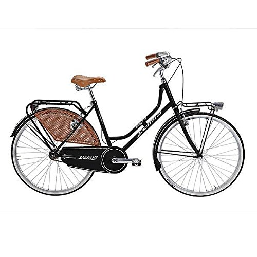 DELMA BICICLETA HOLANDA VIENNA 26 1 VELOCIDAD NEGRO (CITY)/BICYCLE HOLANDA VIENNA 26 1 SPEED BLACK (CITY)