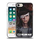 Offizielle AMC The Walking Dead Carl Staffel 8 Portraits Soft Gel Huelle kompatibel mit iPhone 7 / iPhone 8