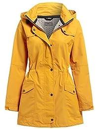 NEW SS7 Women's Waterproof Raincoat, Yellow, Green, Sizes 10 to 24