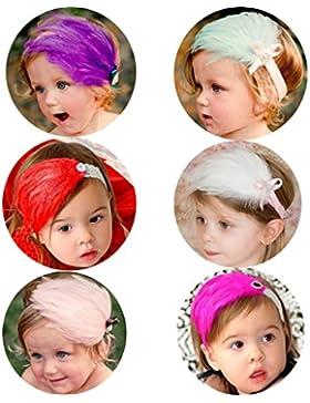 [Patrocinado]Dehutin Niñas Hermosa Accesorios para el cabello Varios Linda hairband 12 Estilo Banda para la cabeza para las...