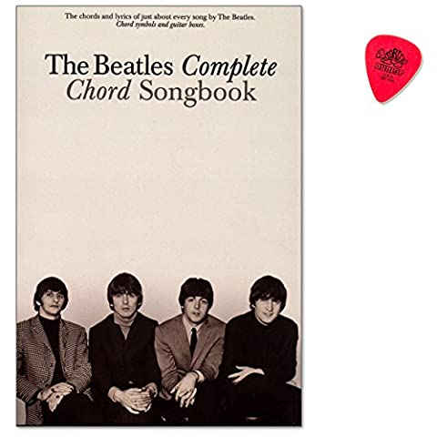 The Beatles Complete Chord Songbook - great collection features all 194 songs written and sung by The Beatles / Songbook für Gesang, Gitarre mit Dunlop (Beatles Christmas Time)