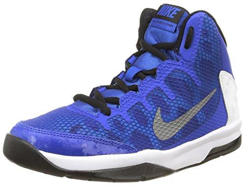 Nike Air Without A Doubt (GS) Jungen -, Blau, Silber, Weiß, Schwarz (Game Royal/Rflct SLVR-WHT-Blck), 40 - Für 7 Jungen-größe Basketball-schuhe
