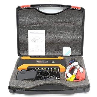 LALEO Arrancador de Coches (hasta 6, 0L Gasolina o 5, 0L Diesel), 1000A 20000mAh 12V IP68 Impermeable con Pantalla LCD Carga Rápida QC3.0 USB Linterna LED Powerbank Jump Starter