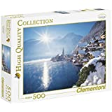 Clementoni - Puzzle de 500 piezas, High Quality, diseño Hallstatt, Austria (303496)