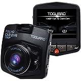 "TOGUARD Mini Car DVR Camera 2.4"" Full HD 1080P Driving Recorder With G-sensor Motion Detection Loop Recorder HDMI Output Night Vision G-sensor (Black)"