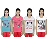 Indistar Girls Cotton T-Shirts (Pack of ...