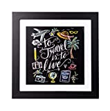 Quadro decorativo 30X30 Cm Lily & Val To Travel Is To Live
